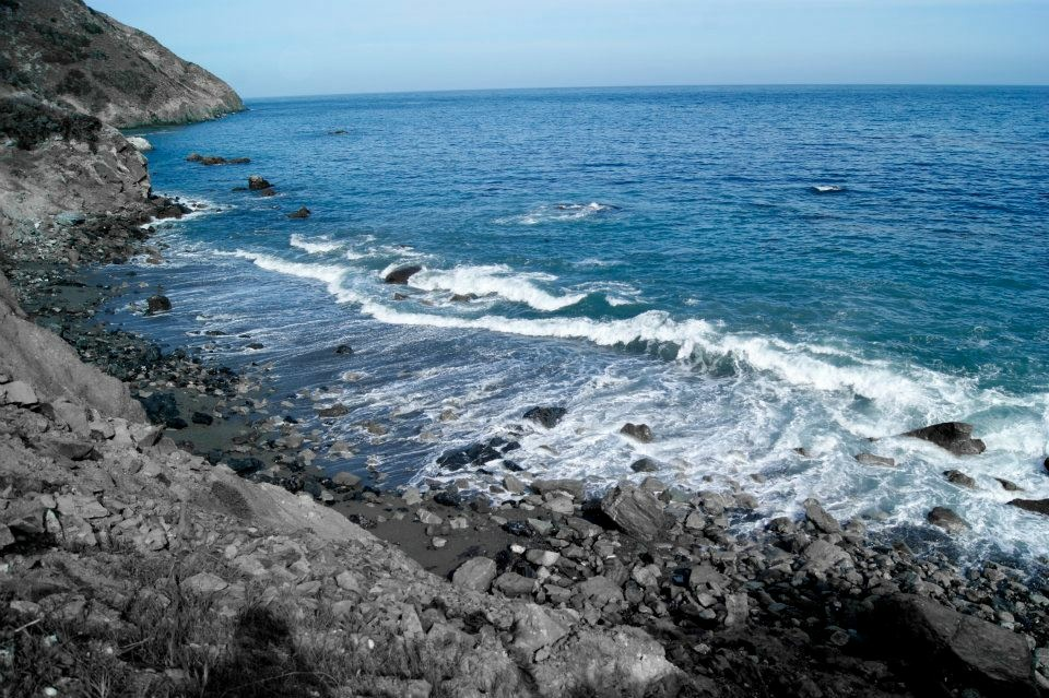 File: The Starlight Beach in Catalina Island, the last stop on the Trans Catalina Trail, Mile No. 37.