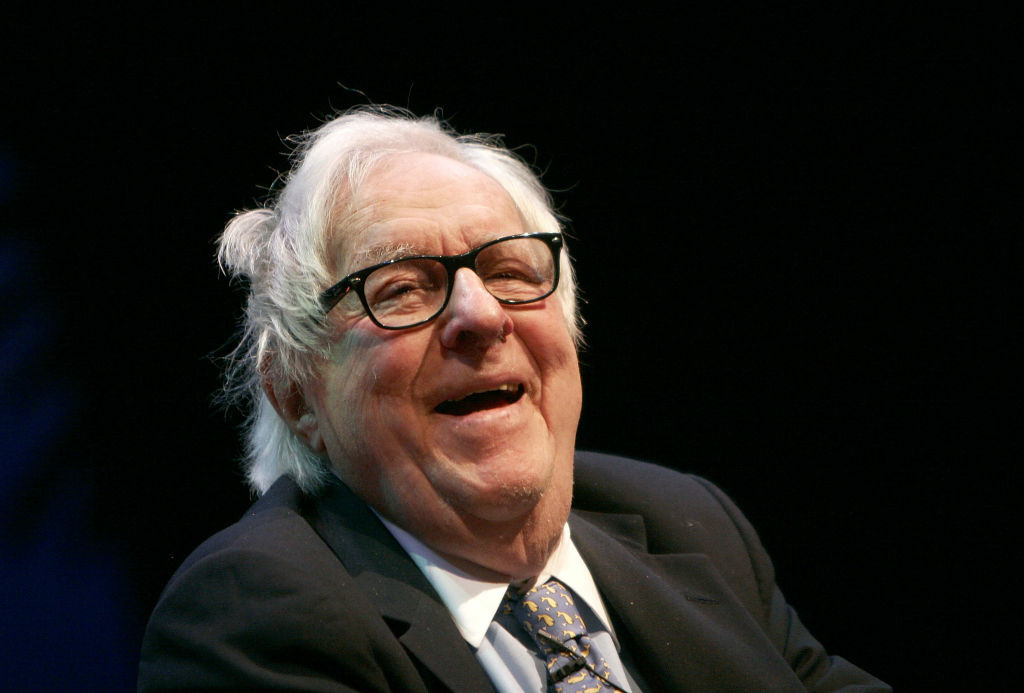 Writer Ray Bradbury delivers a lecture at the 12th Annual L.A. Times Festival of Books at Royce Hall on the U.C.L.A. campus on April 28, 2007 in Los Angeles, California.