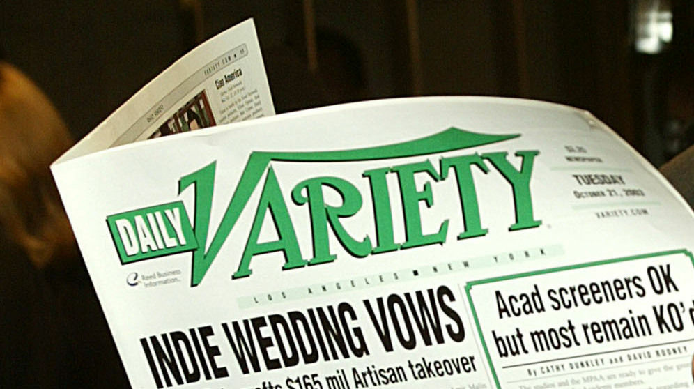 Print versions of Daily Variety are no longer available on L.A. newsstands.