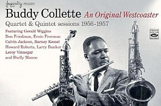 Buddy Collette, a seminal and original westcoaster, used five excellent rhythm sections. With his command of alto, tenor, clarinet and flute, he proved to be a musician of rare calibre, technically gifted, with flawless playing distinguished by fine tonal quality on each instrument.