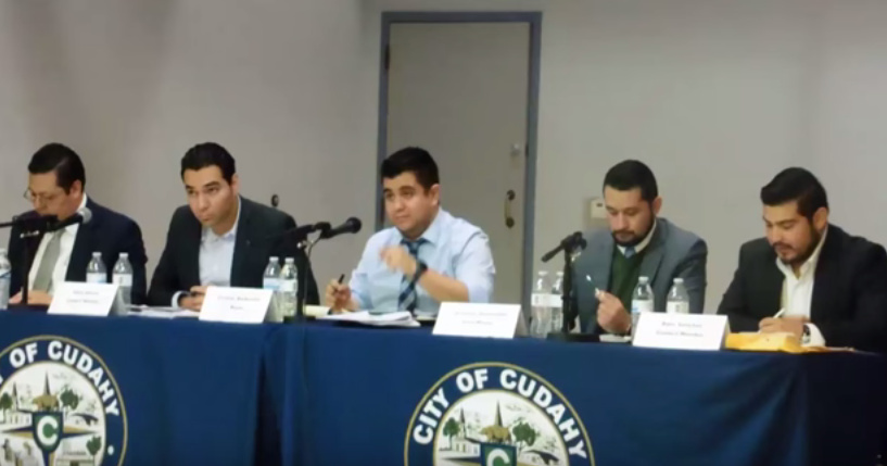 Cudahy city council members say anti-illegal immigration activists hostility forced the council to move the location of its meetings from chambers to a