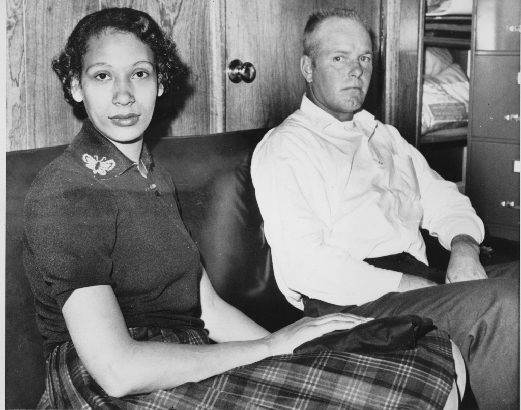 File photo of Mildred and Richard Loving in 1965. The ruling on the couple's 1967 Supreme Court case legalized interracial marriage.