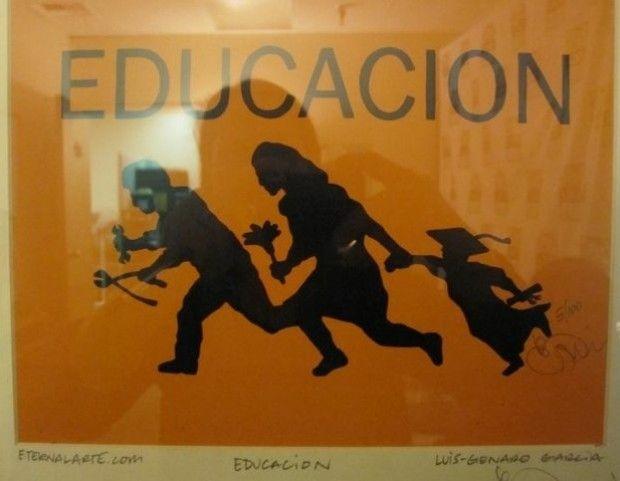 """""""Educación,"""" Luis Genaro Garcia"""