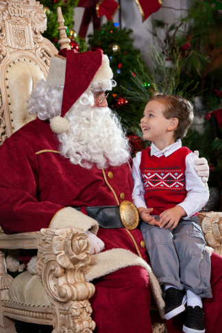 KBF Merry Farm Santa