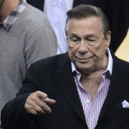 Donald Sterling attends Clipper game