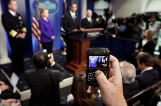 President Obama is considering extending wiretapping abilities to Facebook, Skype and even BlackBerry smartphones