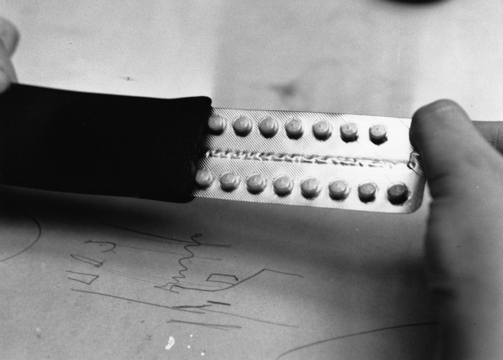 File: A close-up of contraceptive pills on Sept. 1, 1966.