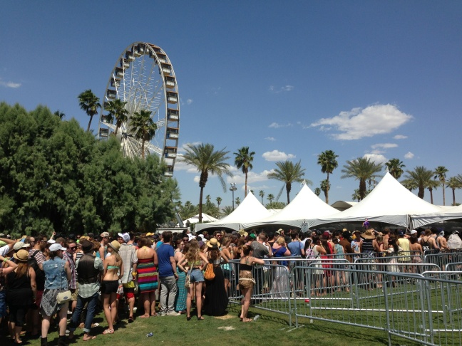 Coachella 2013: Weekend 1: Day 1