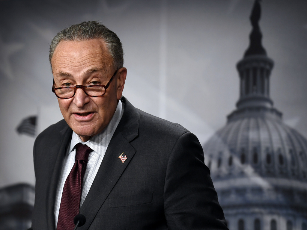 With the budget resolution passed Friday, Democrats, led by Senate Majority Leader Chuck Schumer, can move forward with President Biden's $1.9 trillion pandemic relief bill without Republican support.
