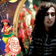 "Detail of ""Tiny Tim's America,"" a new collection of Tiny Tim performances from the Tin Pan Alley era."