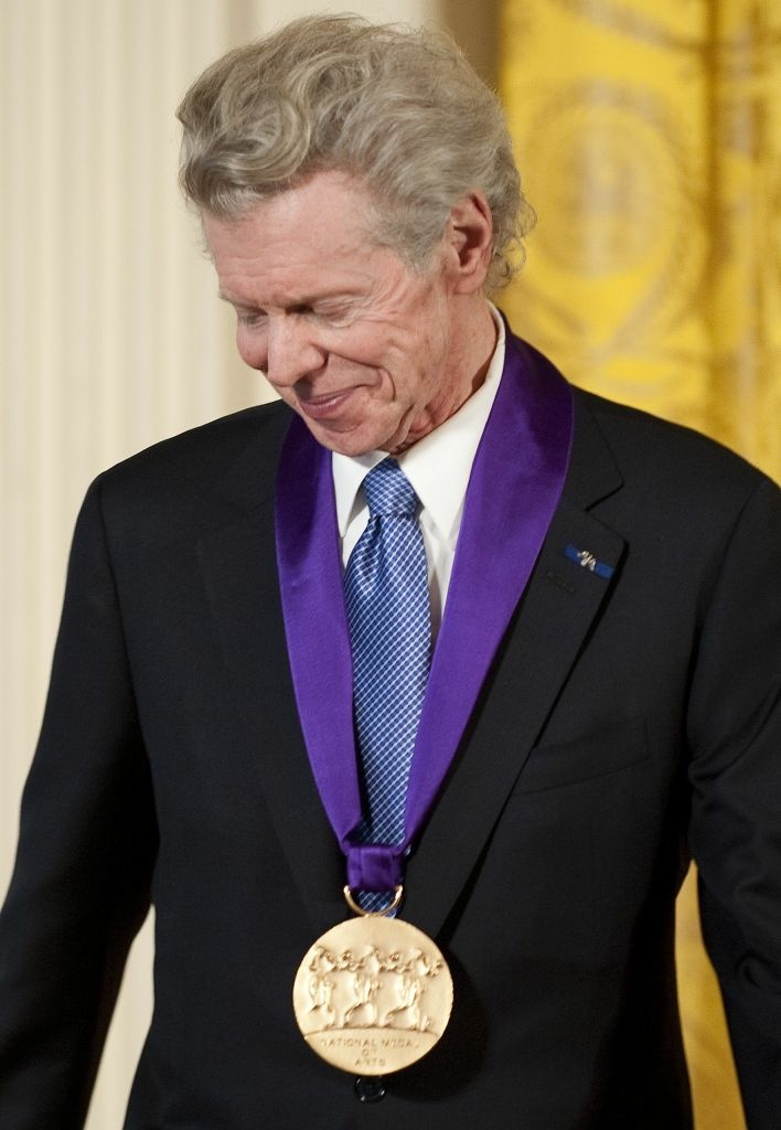"Harvey Lavan ""Van"" Cliburn when he was awarded the 2010 National Medal of Arts during a ceremony at the White House in Washington, DC, March 2, 2011."