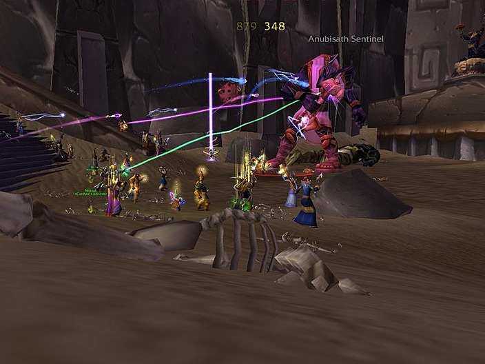 A screenshot of World of Warcraft gameplay