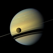 Cassini Saturn Titan rings moon