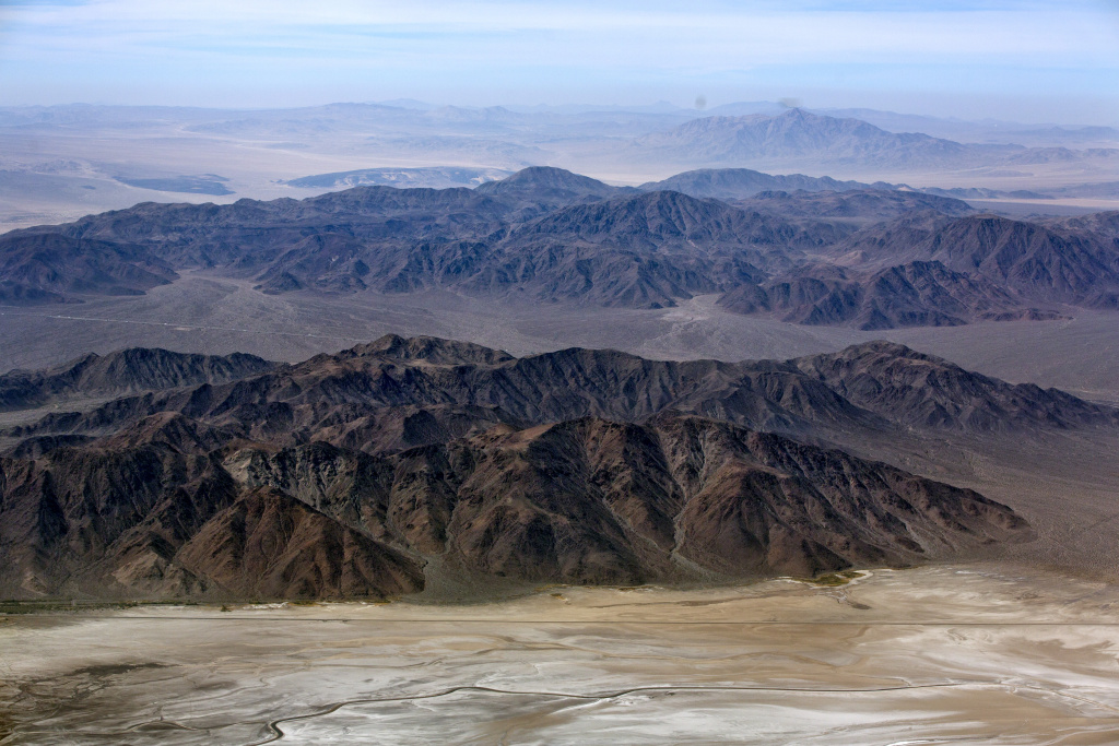 In between the Soda Mountains in Mojave National is where the proposed 1,900-acre Soda Mountain Solar Project would go.