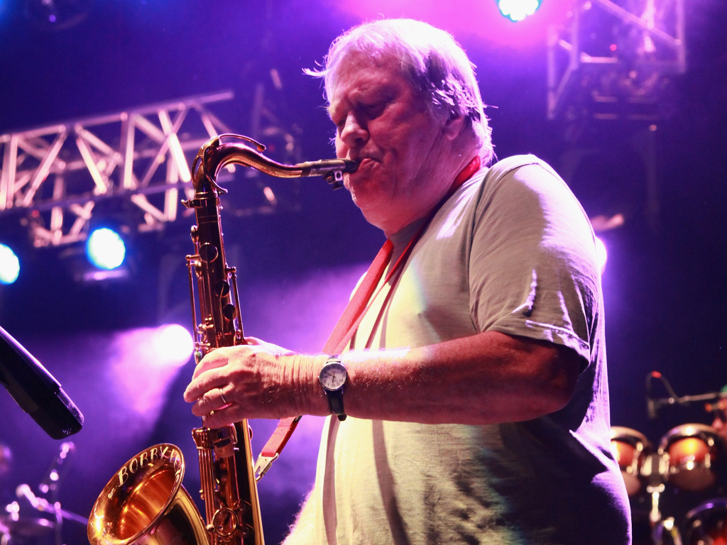 Saxophonist Bobby Keys of The Rolling Stones performs at The Capitol Theatre in Port Chester, N.Y., on Sept. 7, 2012.