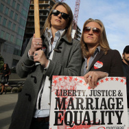 Same Sex Marriage Advocates Rally At San Francisco Court Hearing
