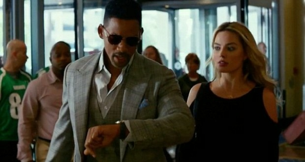 Will Smith and Margot Robbie star in the heist drama