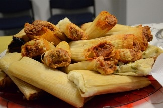 Tamales are a traditional Mexican holiday meal.