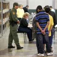 Familes and Children Held In U.S. Customs and Border Protection Processing Facility
