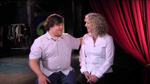 Actor Jack Black reunites with his middle school teacher to show his appreciation as part of a new effort spearheaded by Farmers Insurance