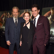"Actor Jeff Bridges, actress Julianne Moore and actor Ben Barnes attend ""Seventh Son"" special screening at Crosby Street Hotel on January 30, 2015 in New York City."