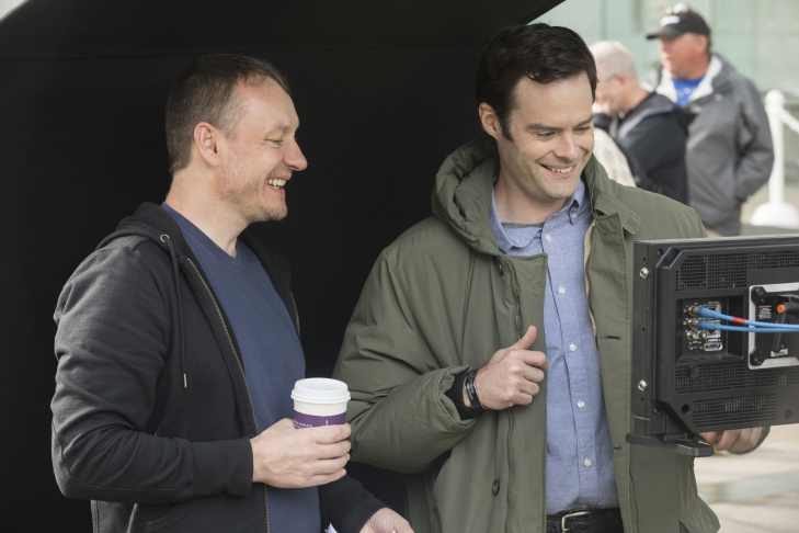 Alec Berg and Bill Hader