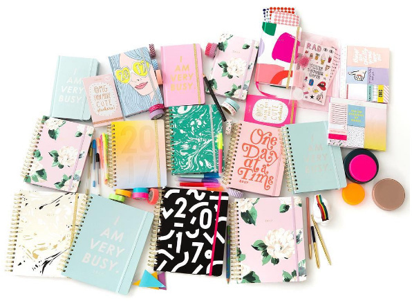 A collection of day-planners by Ban.do