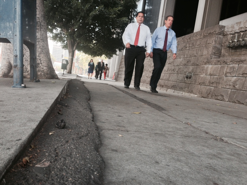 L.A.'s plan to repair sidewalks would put the cost of repairs on adjacent commercial and government property owners, but in residential areas, the city would pay the costs.