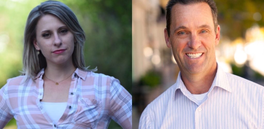Democrat Katie Hill and Republican incumbent Steve Knight are neck-and-neck in the race for California's 25th Congressional district.