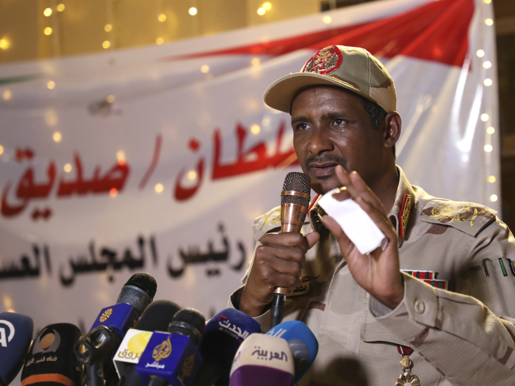 Lt. Gen. Mohamed Hamdan Dagalo is a social media personality. He's also the leader of the paramilitary group that attacked thousands of pro-democracy protesters on June 3, leaving more than a 100 dead.