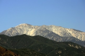 The Sierra Nevada.