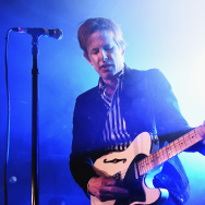 Musician Britt Daniel of Spoon performs at SXSW.