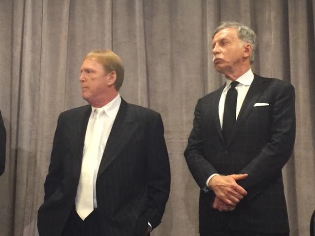 The winners and losers in the NFL stadium vote: Raiders owner Mark Davis (left) and Rams owner Stan Kroenke.