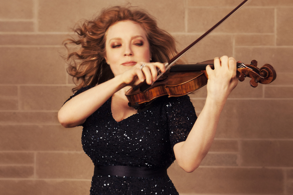 Rachel Barton Pine is an internationally recognized violinist and viola d'amore player.