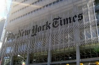 The New York Times pay wall will go up at 11 am Pacific Time Monday, March 28, 2011.