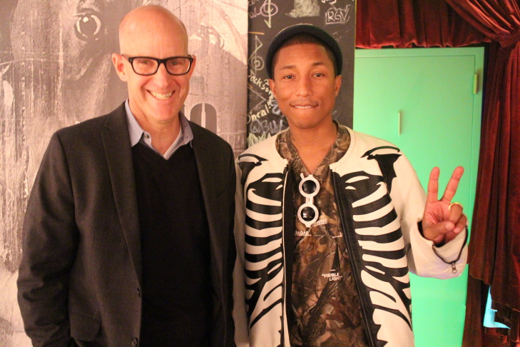 Music and film producer Pharrell Williams.