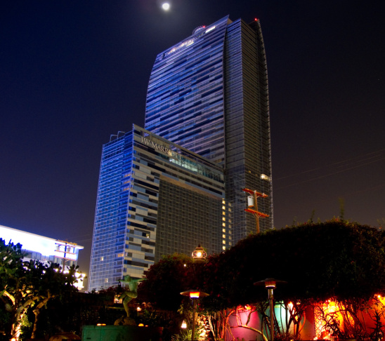Moon Over Marriott