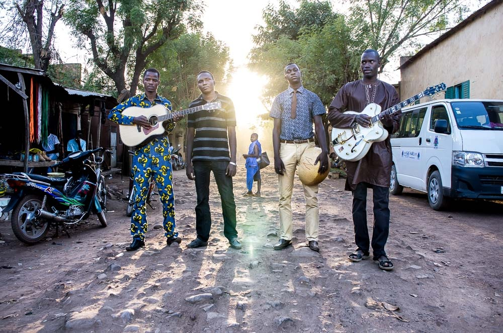 The Malian band Songhoy Blues is featured in the new documentary,