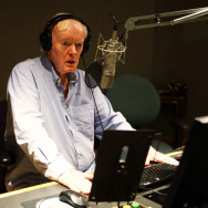Robert Conley celebrated the 40th anniversary of NPR's All Things Considered in the network's Studio 2A.
