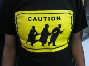 A t-shirt worn at an immigrant student activists' event in Orange County, March 10, 2011