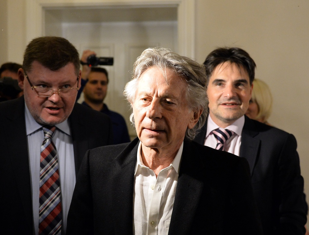 File: Roman Polanski attends a press conference at the regional court in Krakow on Oct. 30, 2015.