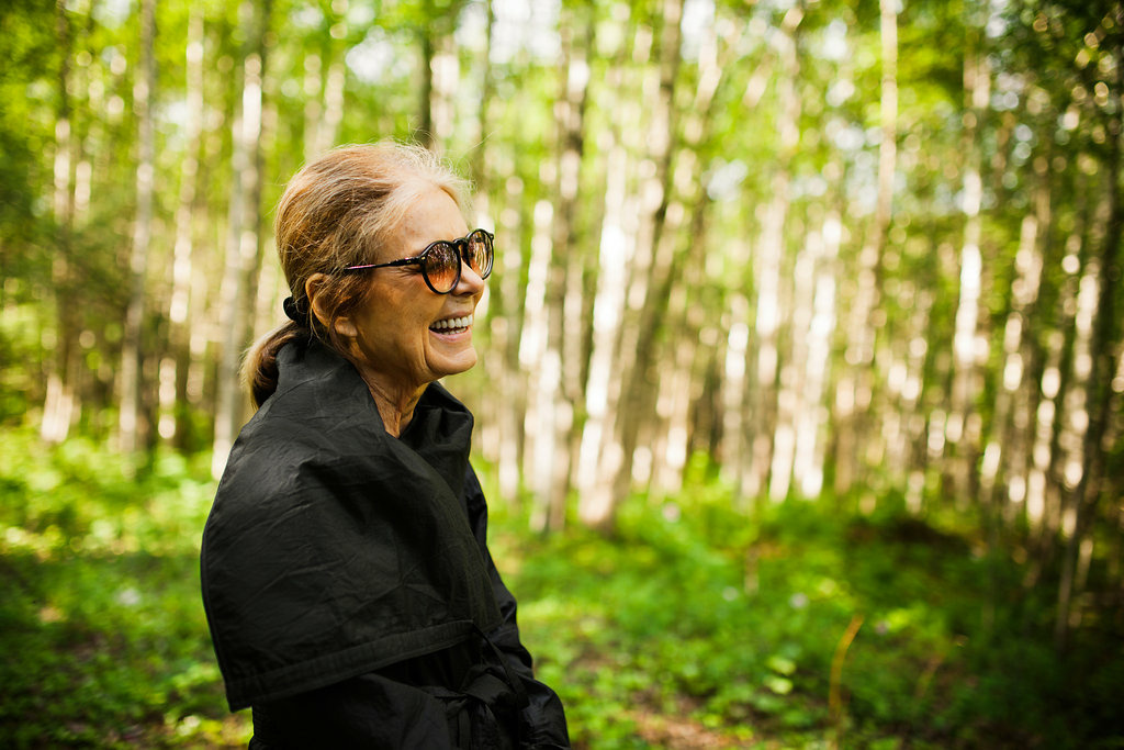 Gloria Steinem says, for those who are looking for hope after the election,