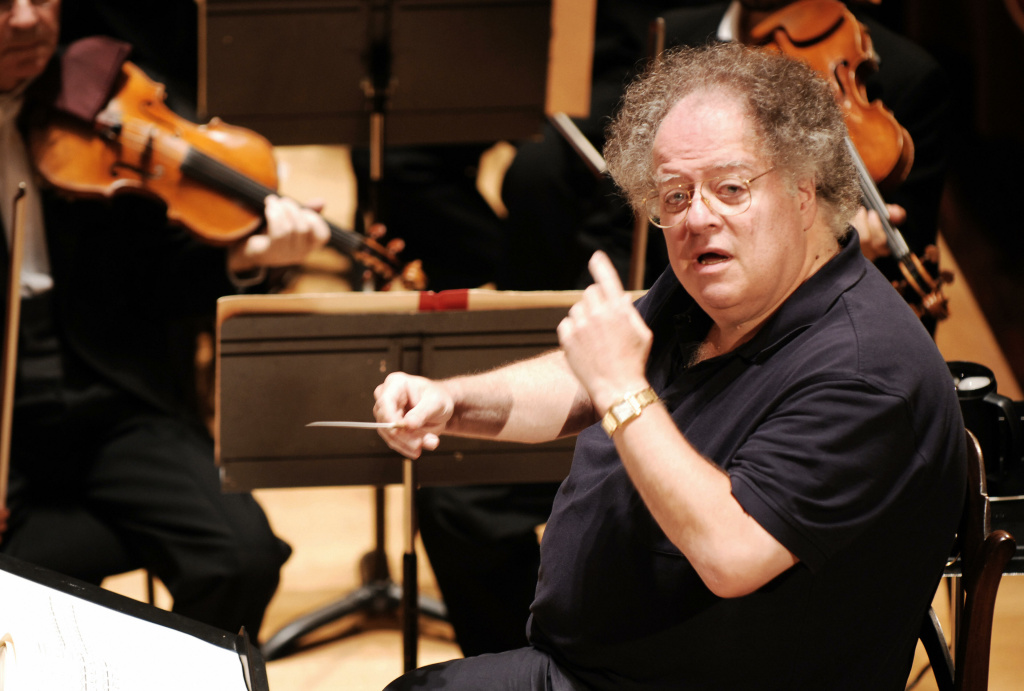 Conductor James Levine and the Boston Symphony Orchestra perform Hector Berlioz's