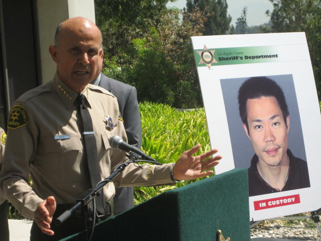 LA County Sheriff Lee Baca. File photo.