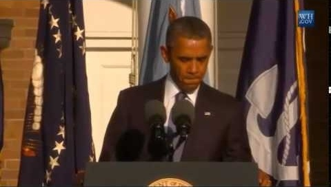 President Barack Obama Speech At Navy Yard Shooting Memorial