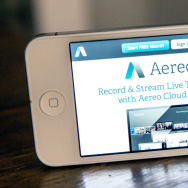 Aereo.com, a Web service that provides television shows online, is shown on an iPhone on April 22. The Supreme Court case ruled the service violates copyright law.