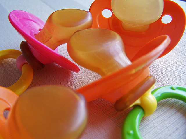 Pacifiers. A new study has found that teenage girls who are abused or neglected are approximately five times more likely to give birth than teens who haven't experienced abuse.