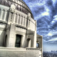 griffith park observatory los angeles skyline