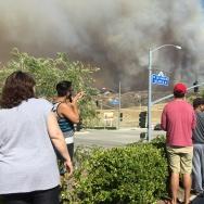 Sand Fire Santa Clarita Target