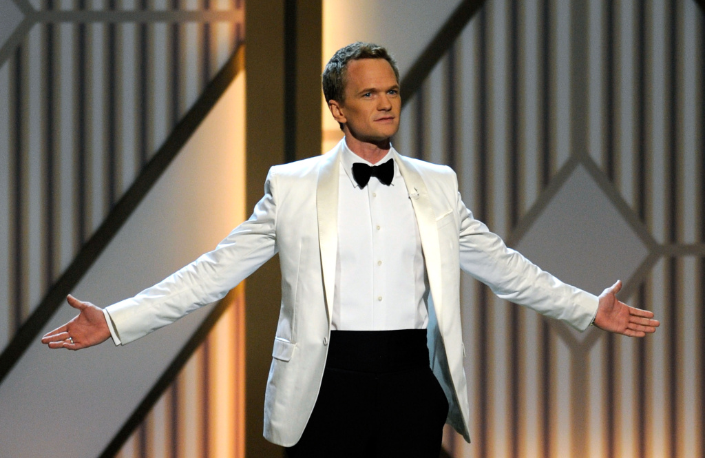 Host Neil Patrick Harris speaks onstage during the opening night of The Smith Center for the Performing Arts on March 10, 2012 in Las Vegas, Nevada.